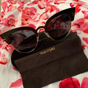 Tom Ford FT0607 Sunglasses Brown